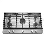 KitchenAid(R) 36'' 5-Burner Gas Cooktop - Stainless Steel