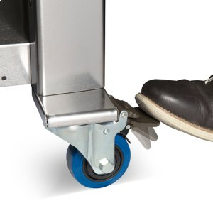 COMMERCIAL-GRADE LOCKING CASTERS