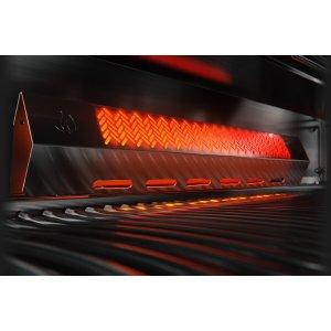 Rear Infrared Rotisserie Burner