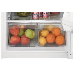 Store-More(TM) Humidity-Controlled Crisper Drawers