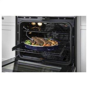 Never-scrub oven racks