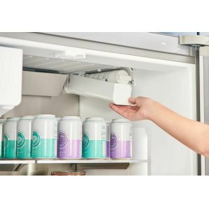All-new QuickIcePro System(TM), with the industry's fastest refrigerator ice maker.*