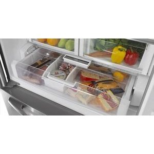 Temperature-controlled Wide-N-Fresh(TM) deli drawer