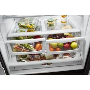 Humidity-Controlled Double Crisper