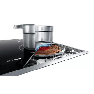 Faster, efficient cooking with induction.
