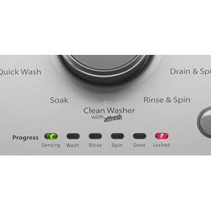 Clean Washer Cycle with affresh(R) Washer Cleaner