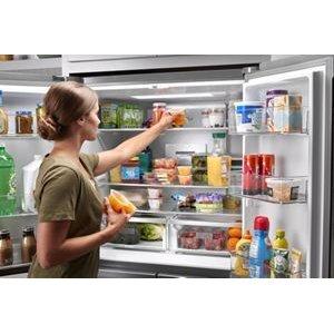 Easy-reach shelves