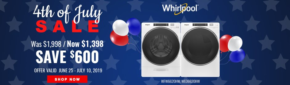Whirlpool NEAEG July 4th 2019