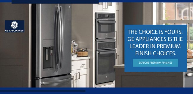 GE Appliances Premium Finishes 2017