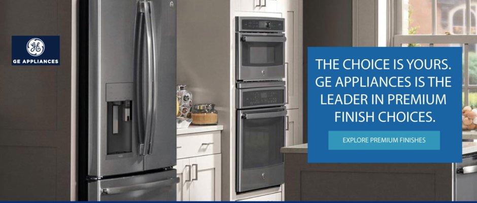 GE Appliances Premium Finishes 2017