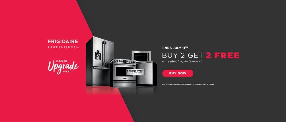 Frigidaire Professional Buy 2, Get 2 2018