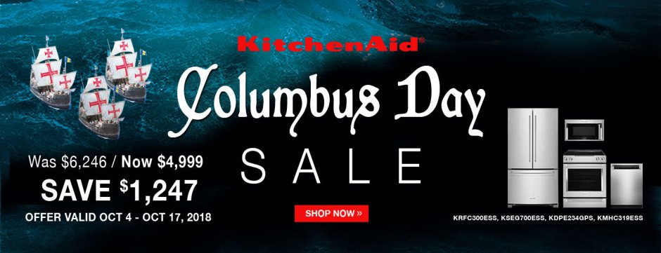 KitchenAid ADC & DMI Exclusive Columbus Day 2018