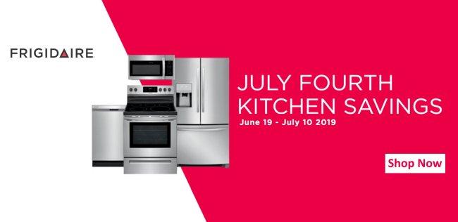 Frigidaire July 4th Kitchen Savings 2019