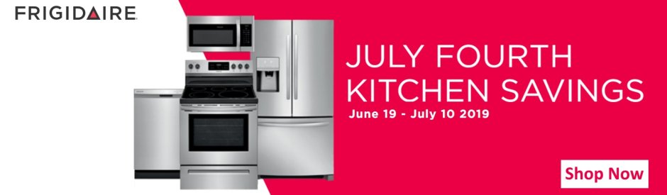 Frigidaire July 4th Kitchen Savings 2019