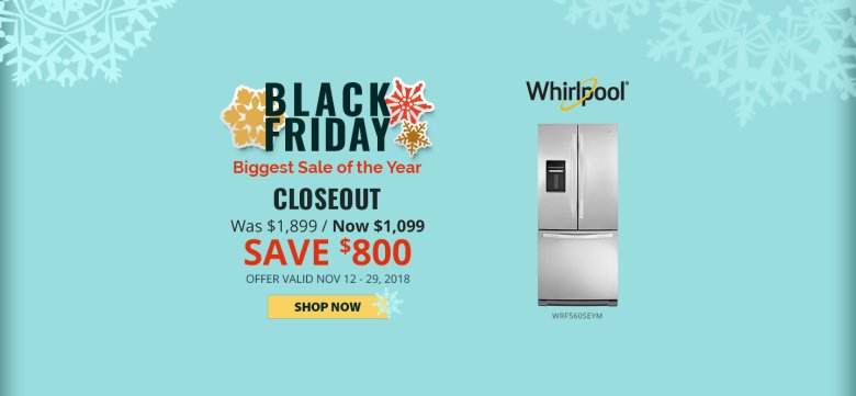 Whirlpool NECO Exclusive Black Friday 2018