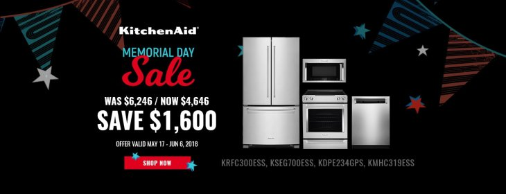 KitchenAid NECO Exclusive Memorial Day 2018
