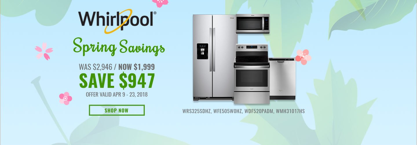 Whirlpool NECO Exclusive Earth Day 2018