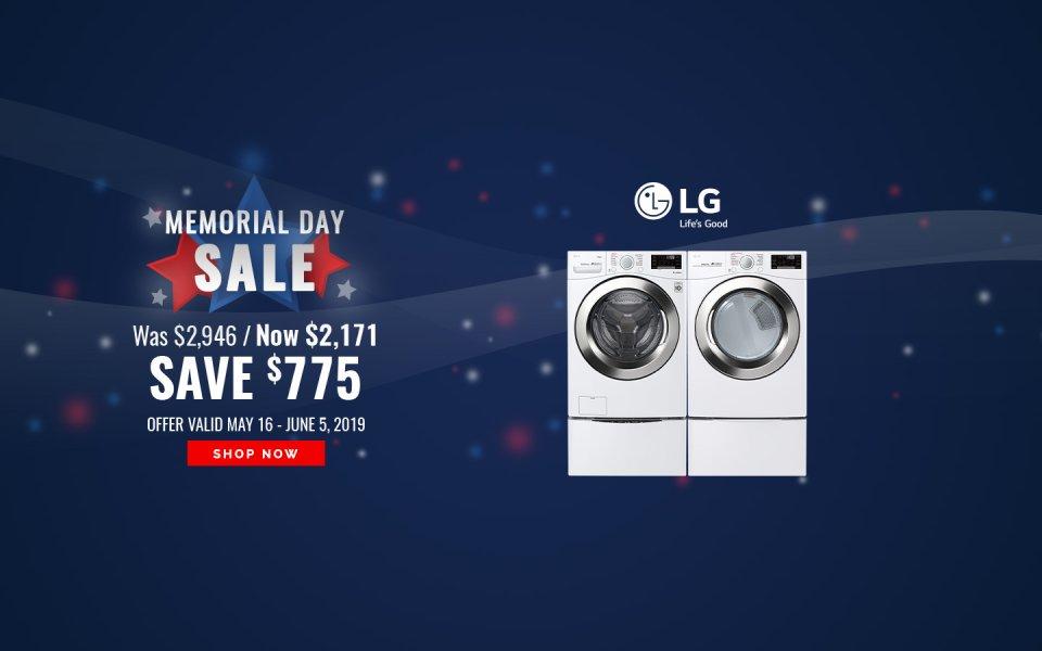 LG Memorial Day NEAEG Exclusive 2019