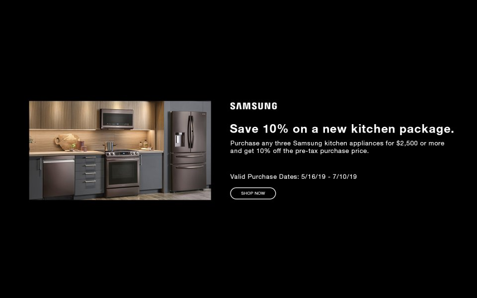 Samsung Summer Kitchen Rebate 2019