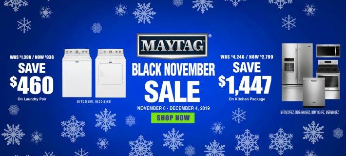 Maytag Black November ADC & DMI 2019