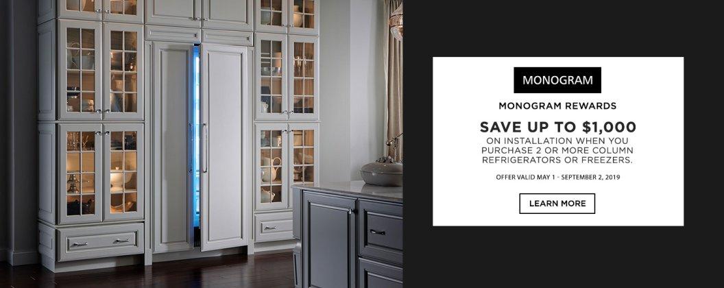 Monogram Refrigerator Installation 2019