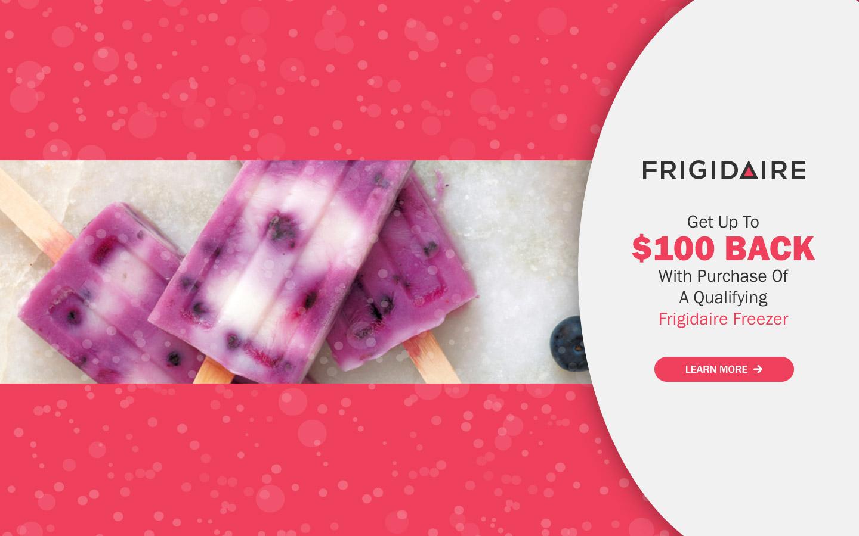Superior Frigidaire $100 Freezer Rebate 2017