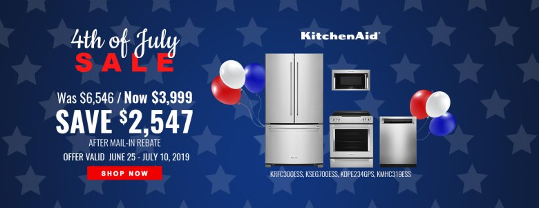 KitchenAid NEAEG July 4th 2019