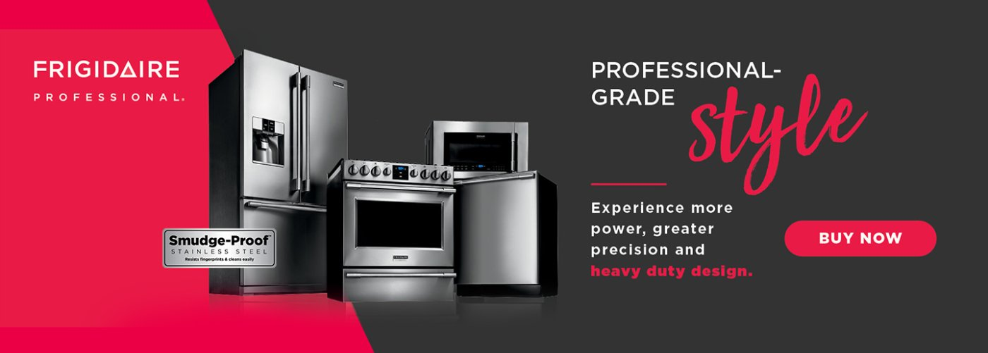 Frigidaire Professional Evergreen 2018