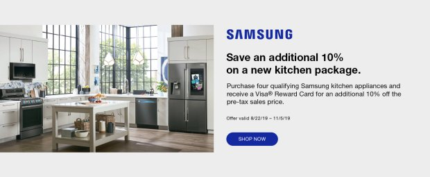 Samsung Fall Kitchen Package 2019