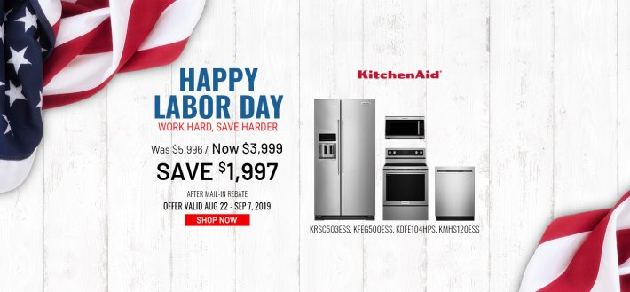 KitchenAid NEAEG Labor Day Organic 2019