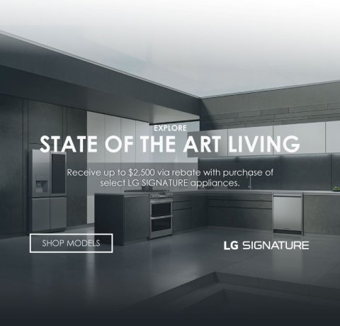 LG SIGNATURE Spring Bundles 2018