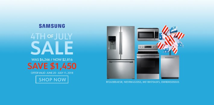 Samsung NECO Exclusive 4th of July 2018