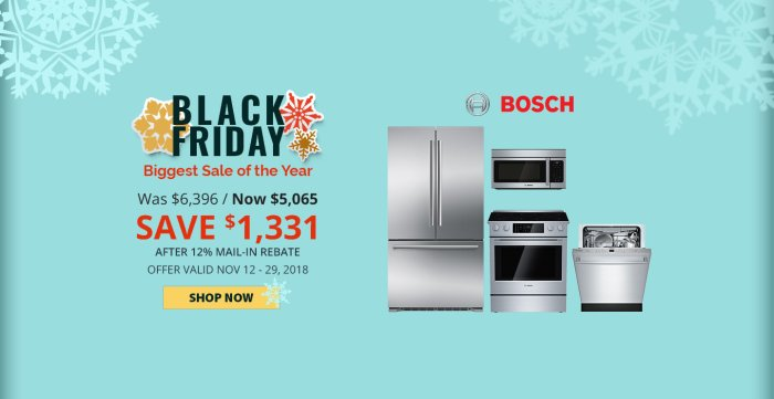 Bosch NECO Exclusive Black Friday 2018