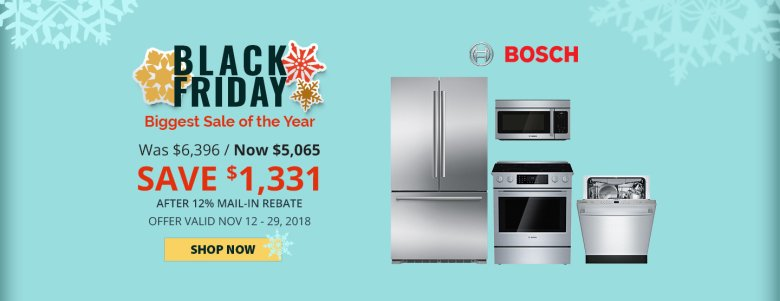 Bosch NECO Exclusive Black Friday 2018