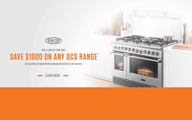 ... DCS $1000 Range Rebate 2017 ...
