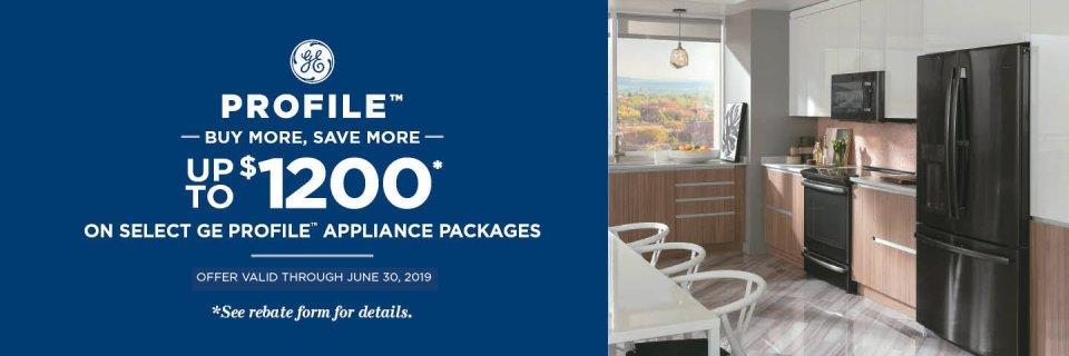 GE Profile Buy More Save More Jan 2019