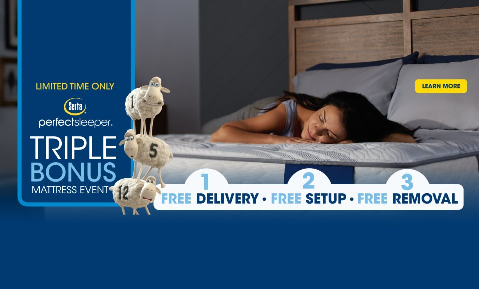 Serta Perfect Sleeper Triple Bonus Event 2018