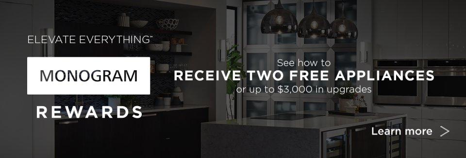 GE Monogram Rewards 2018