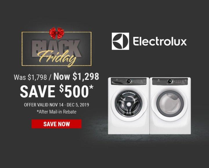 Electrolux & Frigidaire NEAEG Black Friday 2019