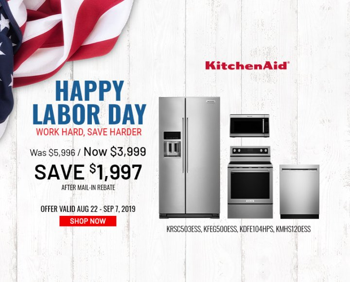 KitchenAid NEAEG Labor Day Organic 2019