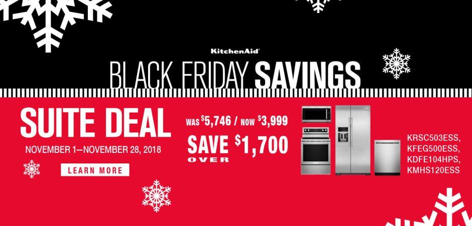 KitchenAid ADC & DMI Exclusive Black Friday 2018