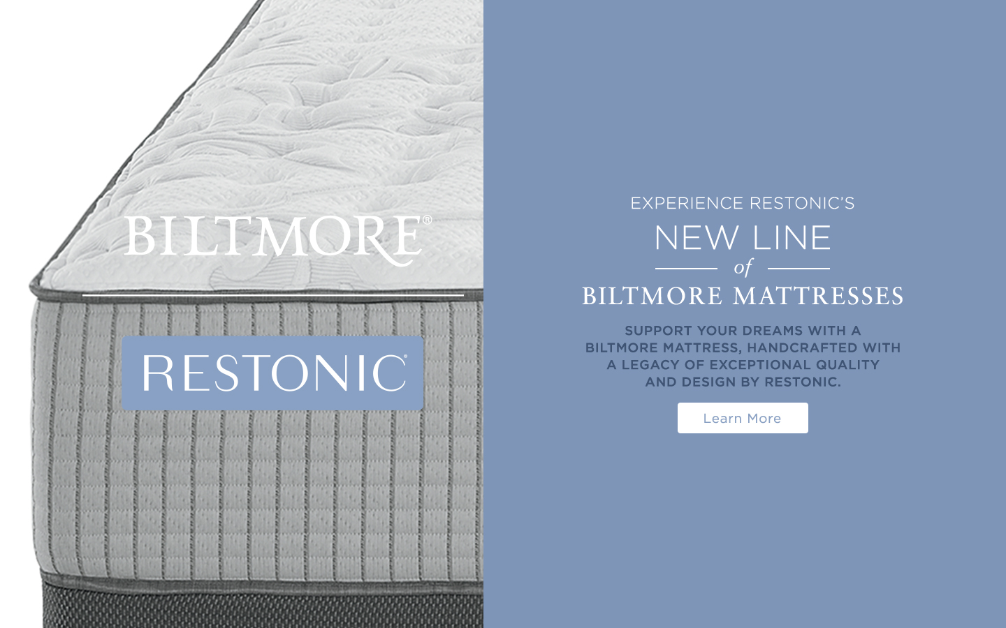Restonic Biltmore Launch Nationwide Exclusive 2018