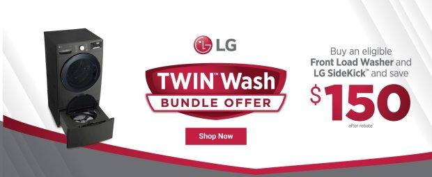 LG TwinWash Bundle Offer 2019