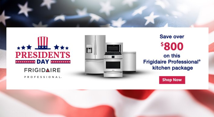 Frigidaire Professional Presidents Day NEAEG Exclusive 2019