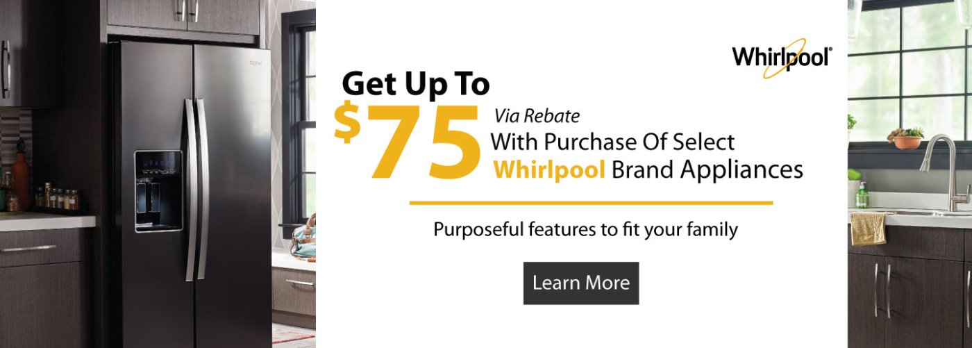 Whirlpool Up to $75 Q2 2018