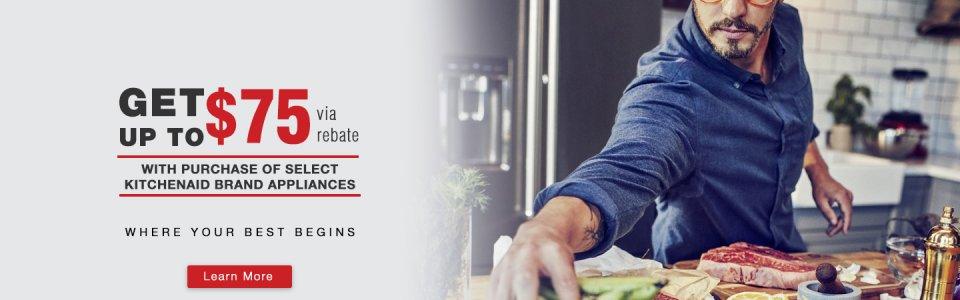 KitchenAid Up to $75 Q2 2018
