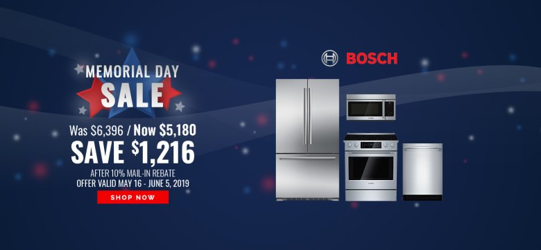 Bosch Memorial Day NEAEG Exclusive 2019
