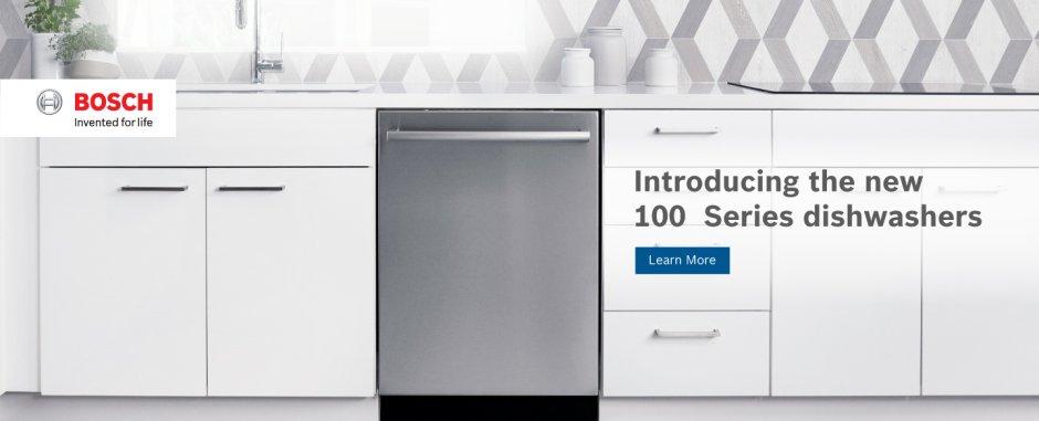Bosch 100 Series Dishwasher July 2018