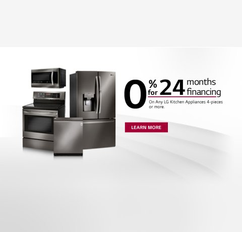 LG 0% Financing Program 2018
