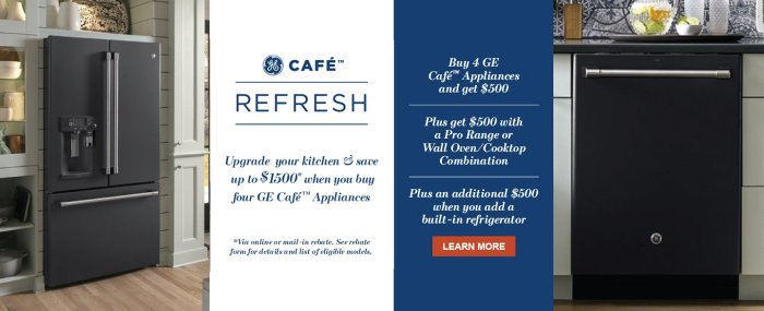 GE Cafe Refresh 2018
